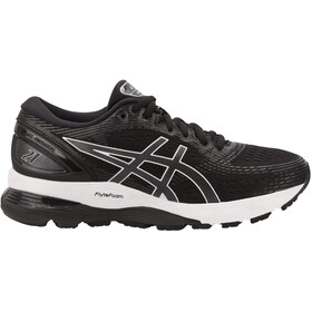 asics Gel-Nimbus 21 Scarpe Donna, black/dark grey